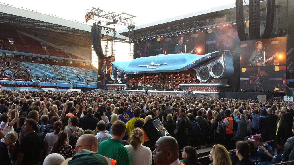 Bon Jovi, Villa Park, Birmingham - 9th June 2013